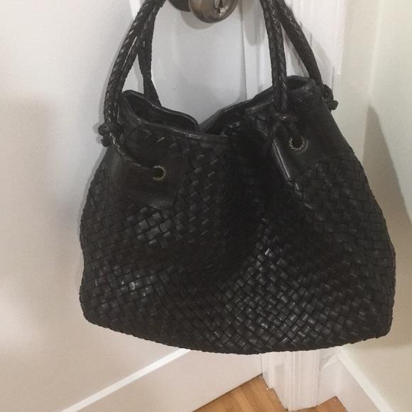 falor Handbags - Italian leather handbag black
